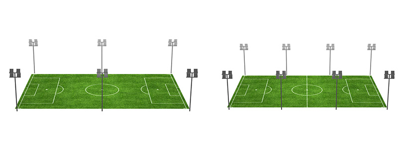 Football-Stadium-Lighting-Six-to-Eight-Pole-Distribution