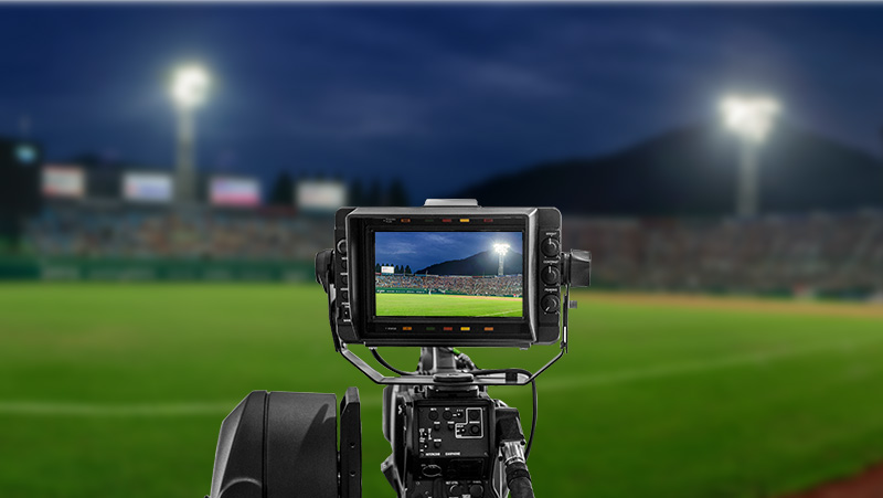 Hi-Robot series LED stadium lights support TV broadcast standard