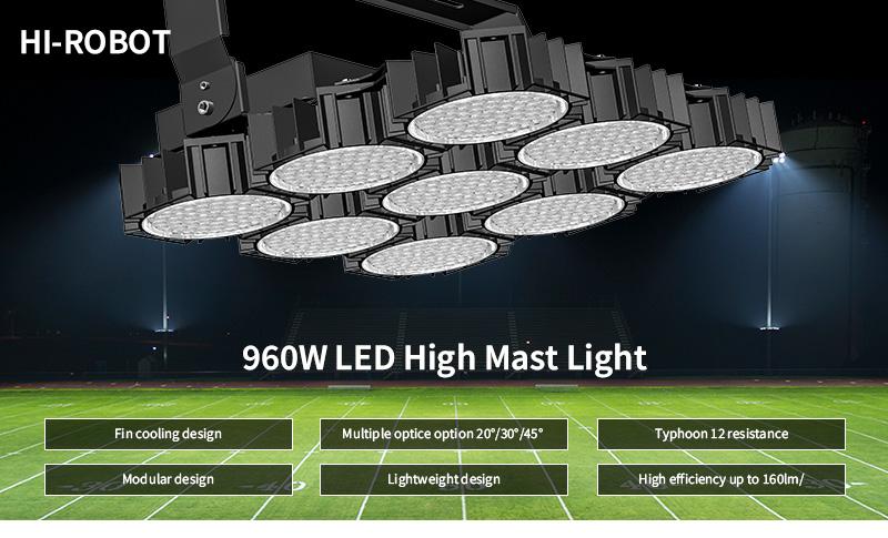 Hi-Robot series LED stadium lights product advantages