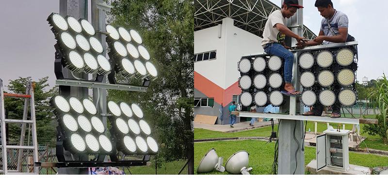 Hi-Robot series LED stadium lights Case2