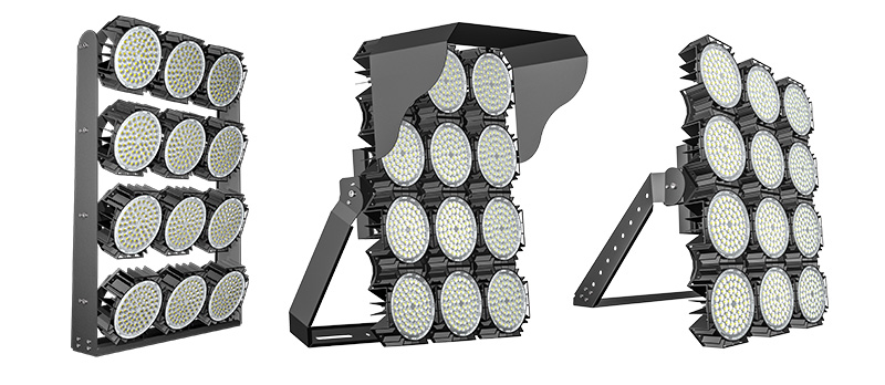Hi-Robot LED stadium light  Multiple Mounting Options