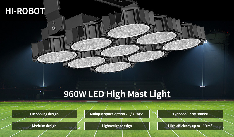 Key Features Of Hi-Robot-LED-stadium-light