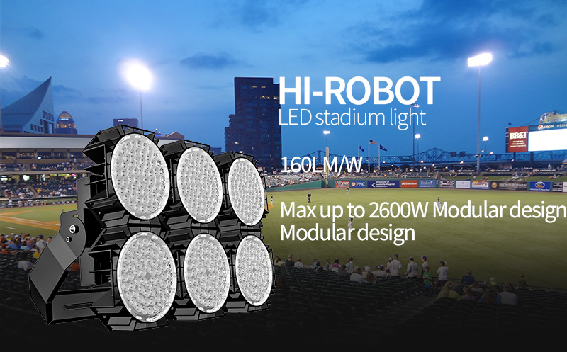 Hi-Robot LED stadium light 720W