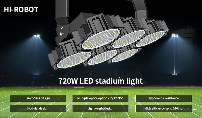 Hi-Robot LED stadium light