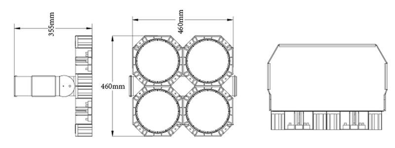 Hi-Robot LED stadium light Product Specifications