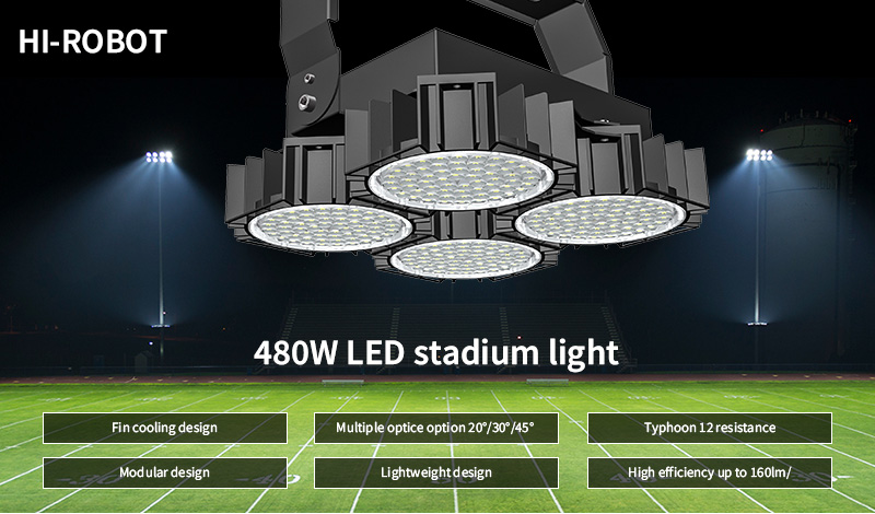 Hi-Robot LED stadium light