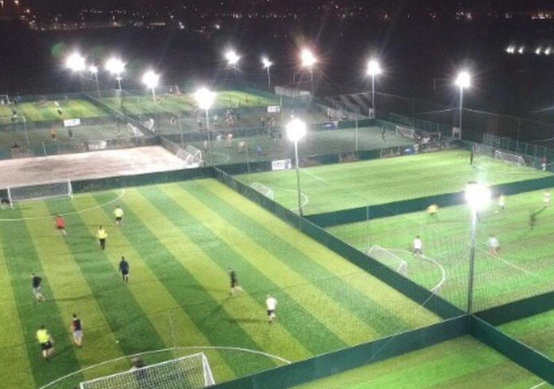 Hi-Robot LED tennis court lights Applications 1