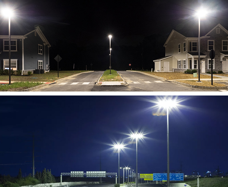 Hi-Slim LED Street Light Applications 1