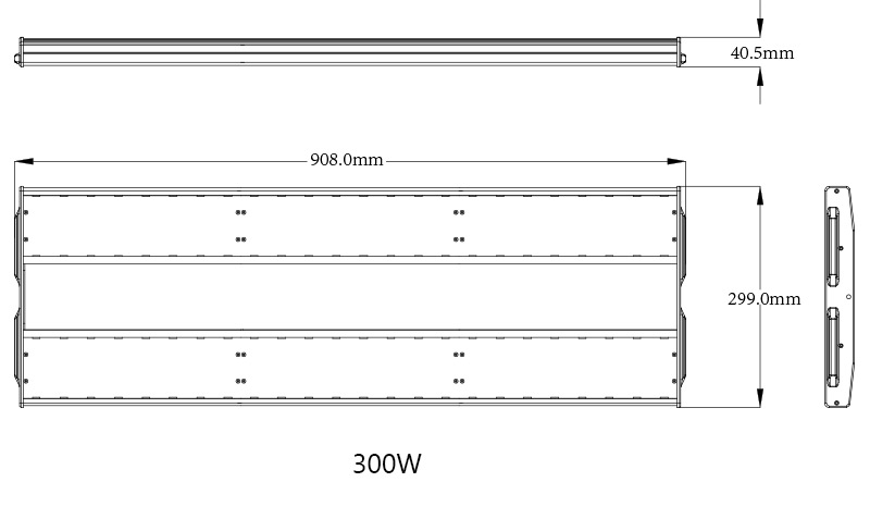 K5 LED Linear High Bay Light Product Specifications