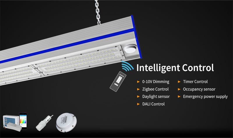 K1 LED Linear High Bya Light Intelligent Control