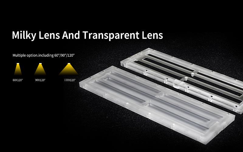 K1 LED Linear High Bya Light Milky Lens And Transparent Lens