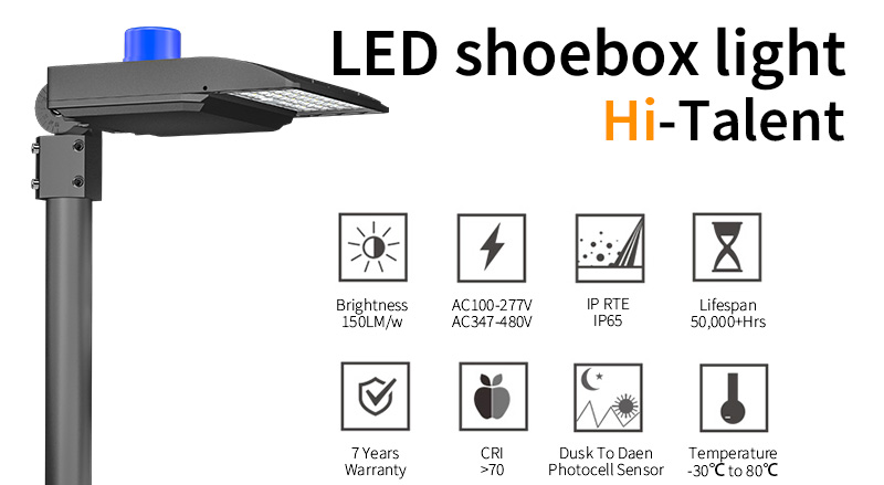 Key Features Of LED-shoebox-light