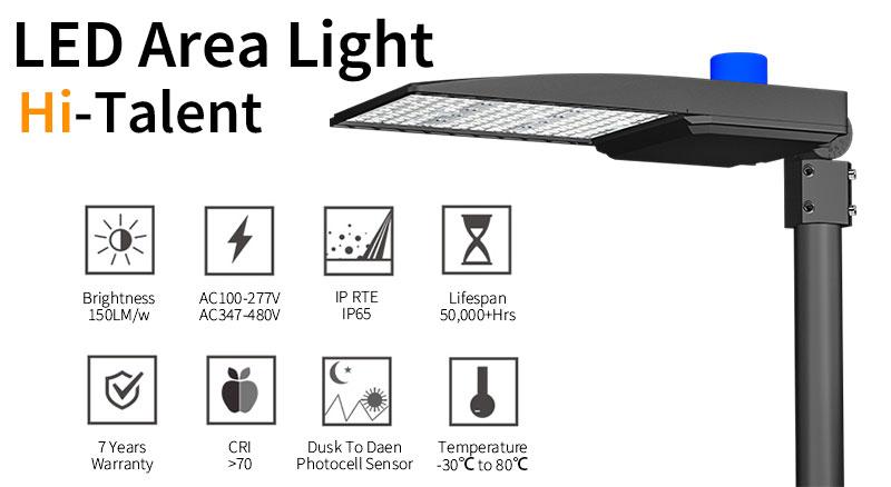 Key Features Of Hi-Talent LED Area Light