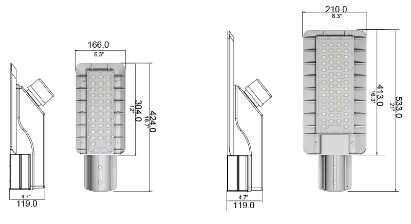 Hi-Small LED Street Light Product  Specifications