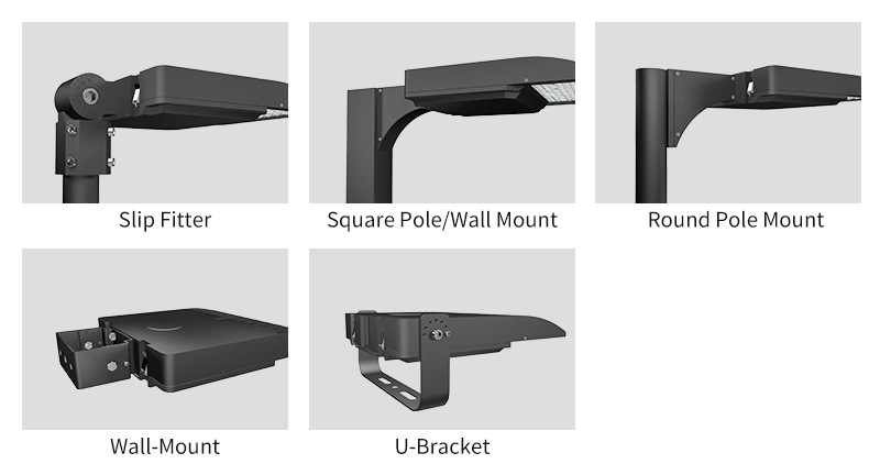 Hi-Talent LED sports light Multiple  Mounting Options