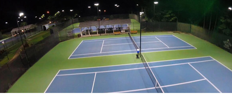 Hi-Talen LED sports light Applications2