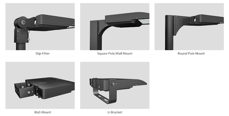 Hi-Talent LED Area Light Multiple Mounting Options