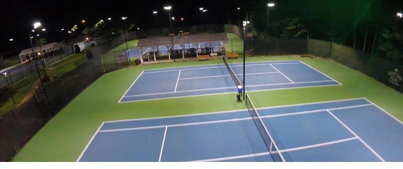 Hi-Talen LED Area Light Applications