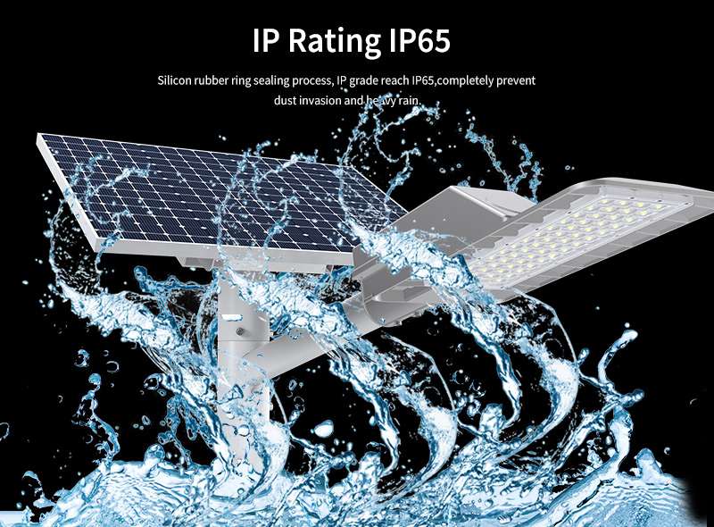 Hi-Small Led Solar Street Light IP  Rating IP65