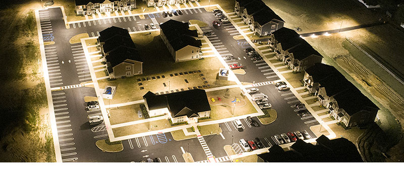 Hi-Talen LED Area Light Applications2