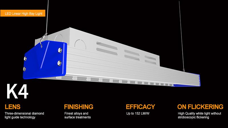 K4 LED Linear High Bya Light