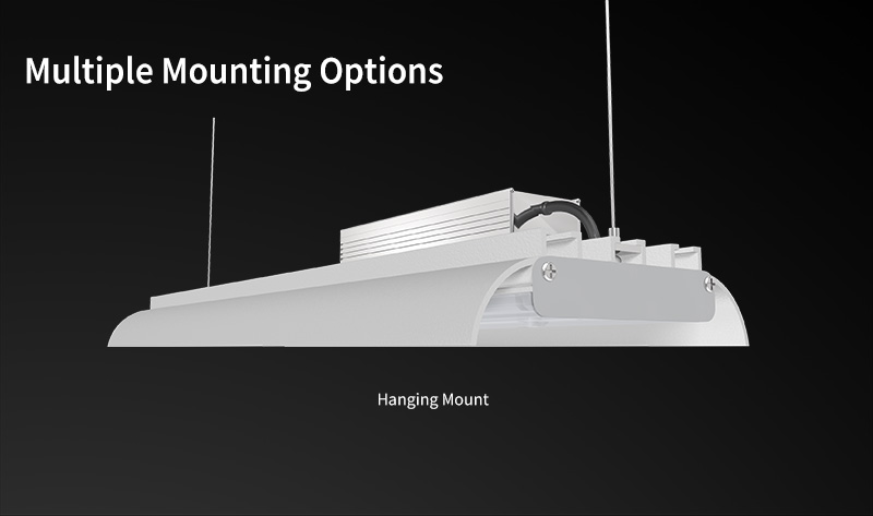 k3 Linear High Bay Light Multiple Mounting Options