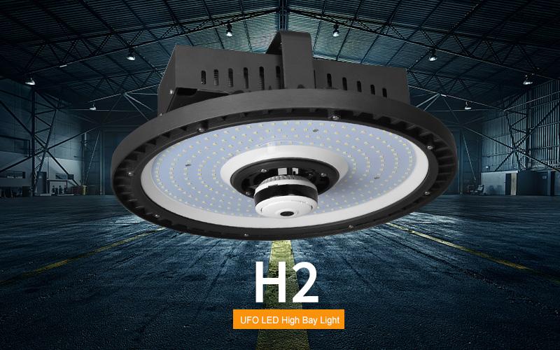 150W-250W H2 LED UFO High Bay Light