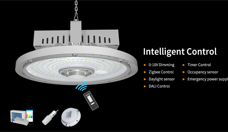 H2 LED UFO High Bay Light Intelligent Control