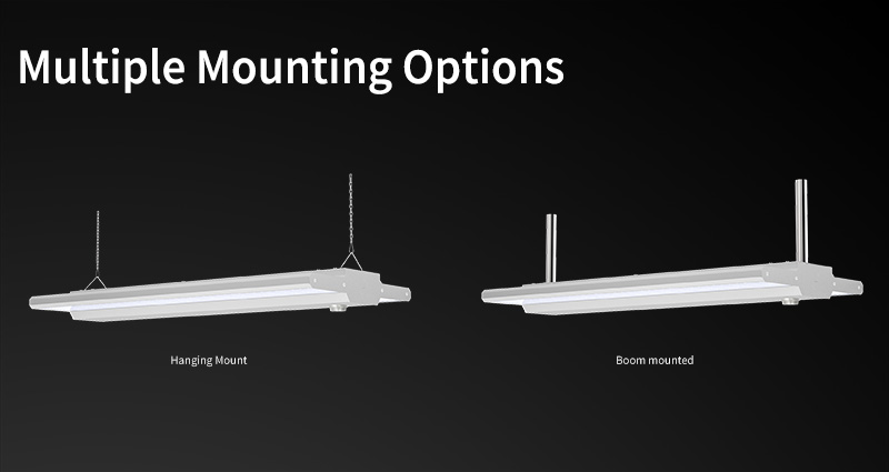 K6 LED Linear High Bya Light Multiple Mounting Options