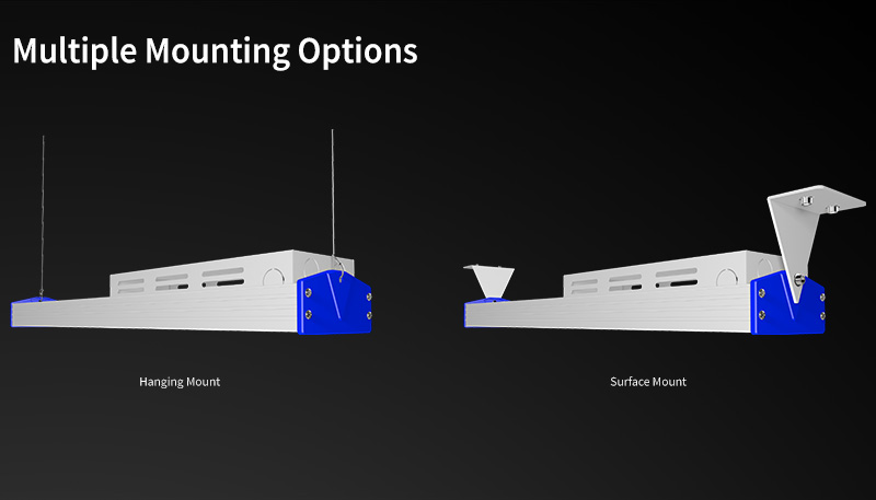 K4 LED Linear High Bya Light Multiple Mounting Options