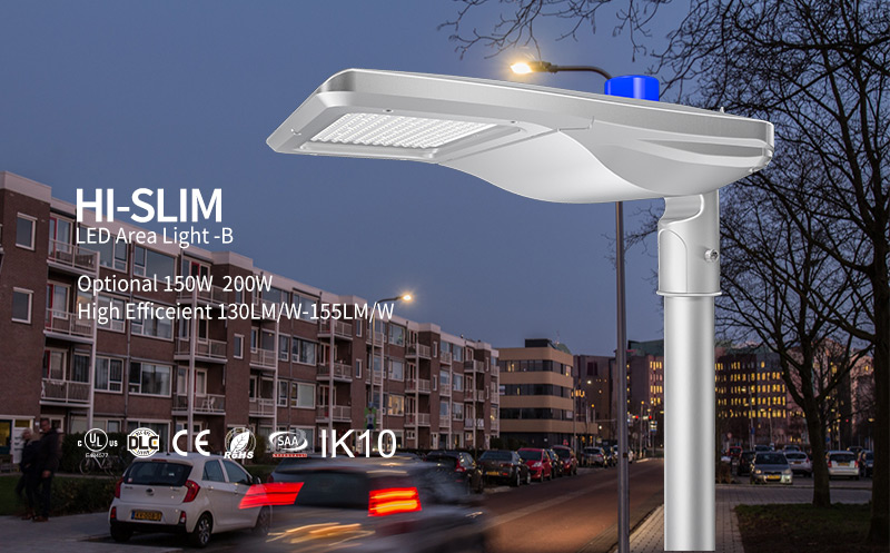 Hi-Slim LED Area Light 150W/200W