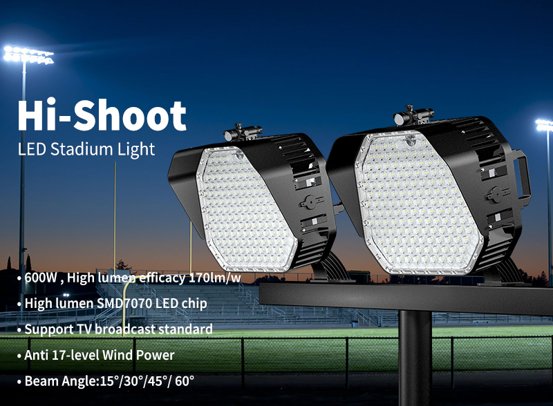 Hi-Shoot LED Stadium Light 600W