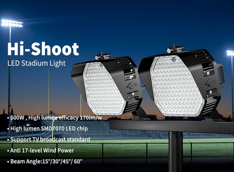 Hi-Shoot LED Stadium Light 600W