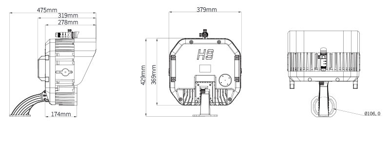 Hi-Shoot LED Stadium Light  Product Specifications