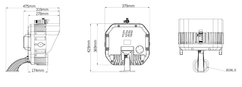 Hi-Shoot Outdoor stadium lights Product Specifications