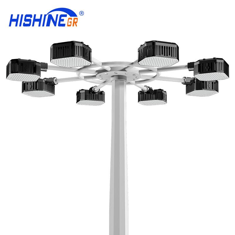 LED high mast apron light