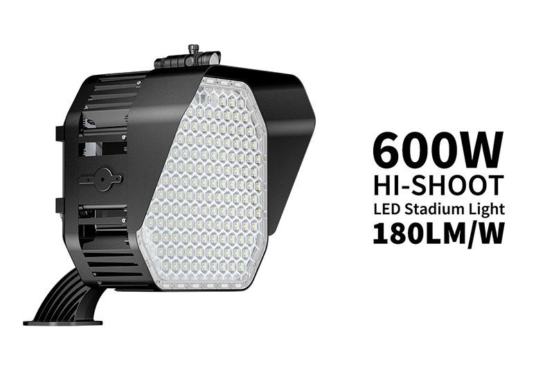 LED Stadium Light of the HI-SHOOT series