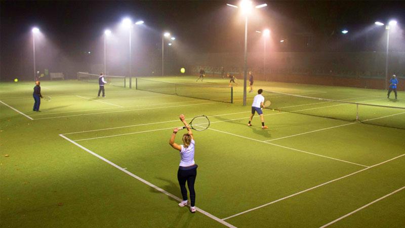 Tennis court or Pickleball field