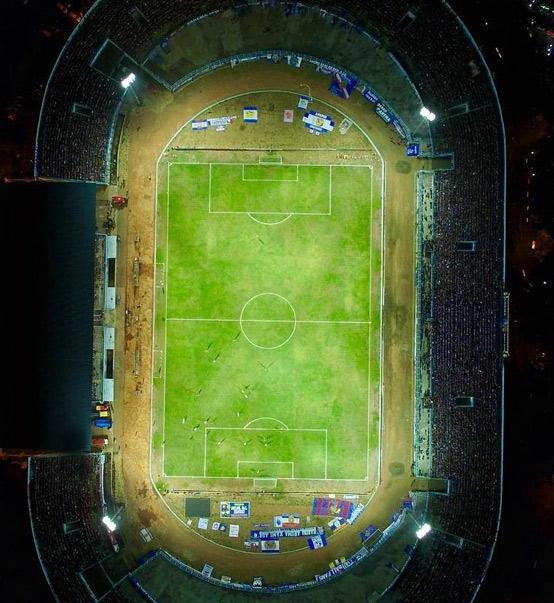 Arema f.c. in Malang Football Field Lighting