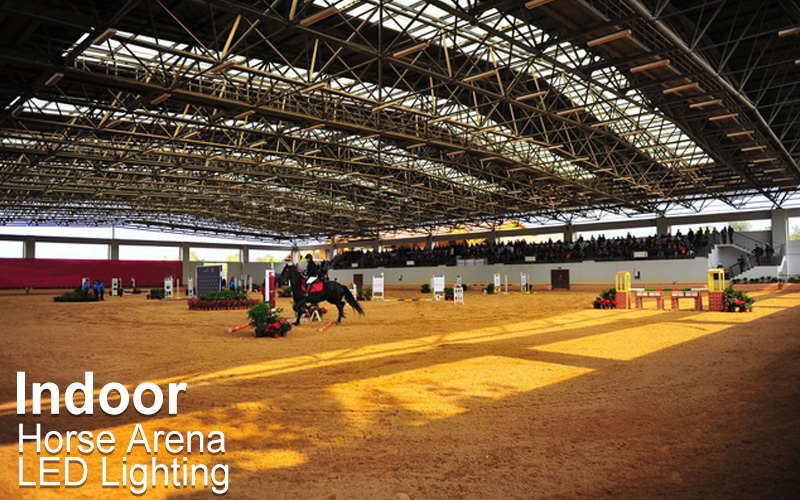 Requirements for indoor racecourse lighting