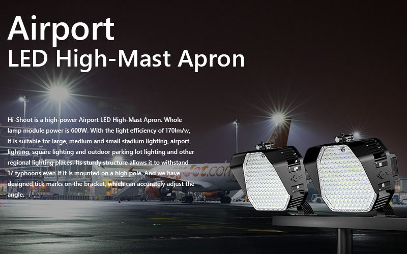 High Power Airport LED High-Mast Apron