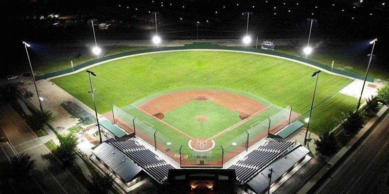 LED Baseball field light