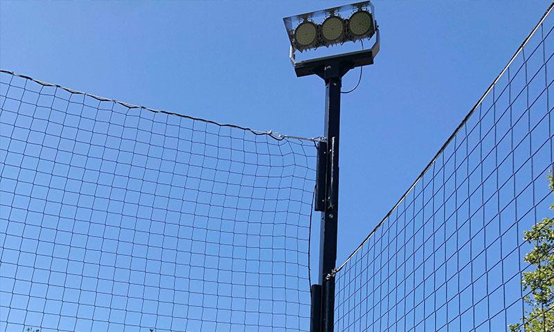 320W Football Field Light installation