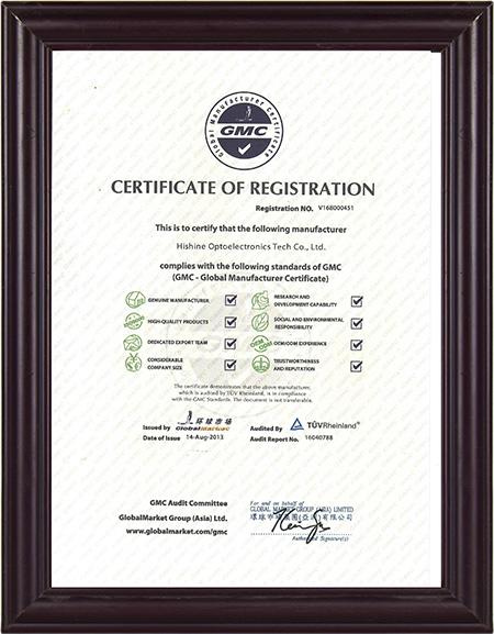 Global Market Certificate