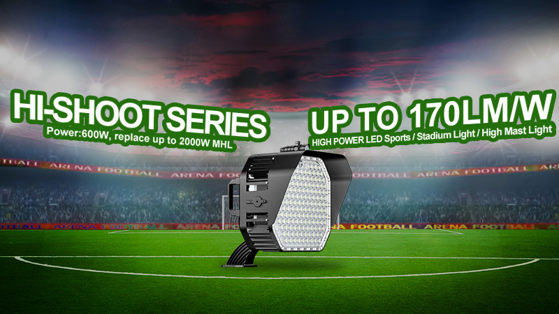 LED Football field light High lumen