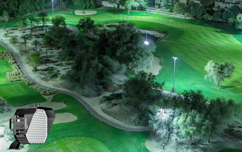 led Golf Course light Illumination uniformity