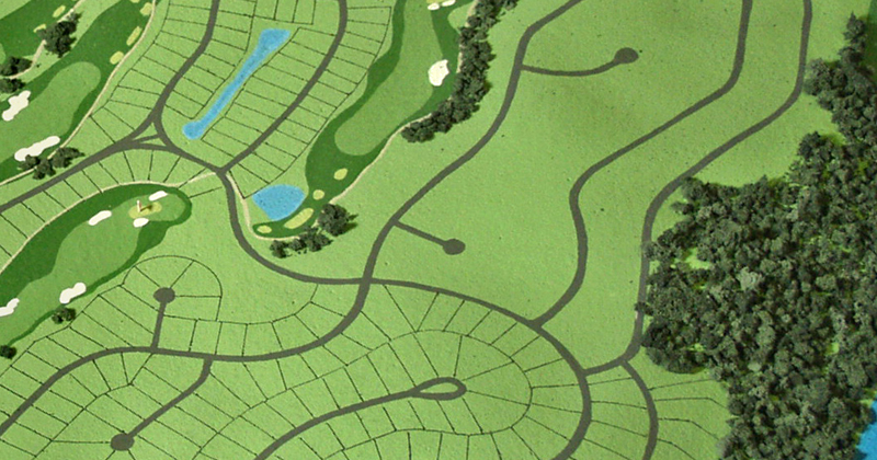 led Golf Course lighting DIALUX simulation