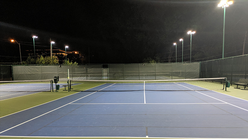 The Tennis Court Lighting requirement for Professionals
