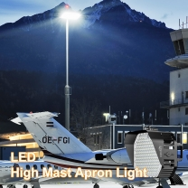 LED high mast apron light