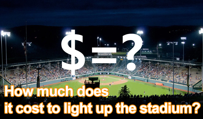 The Lighting Cost of Softball Field and Baseball Field